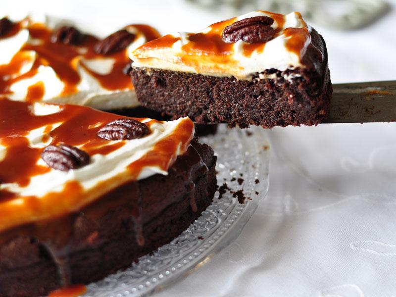 עוגת שוקולד פקאן לפסח