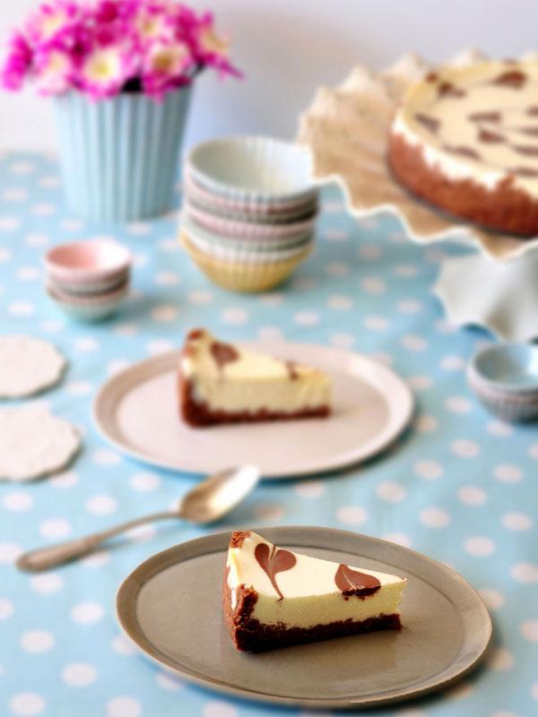 עוגה פרוסה - תמונת אורך