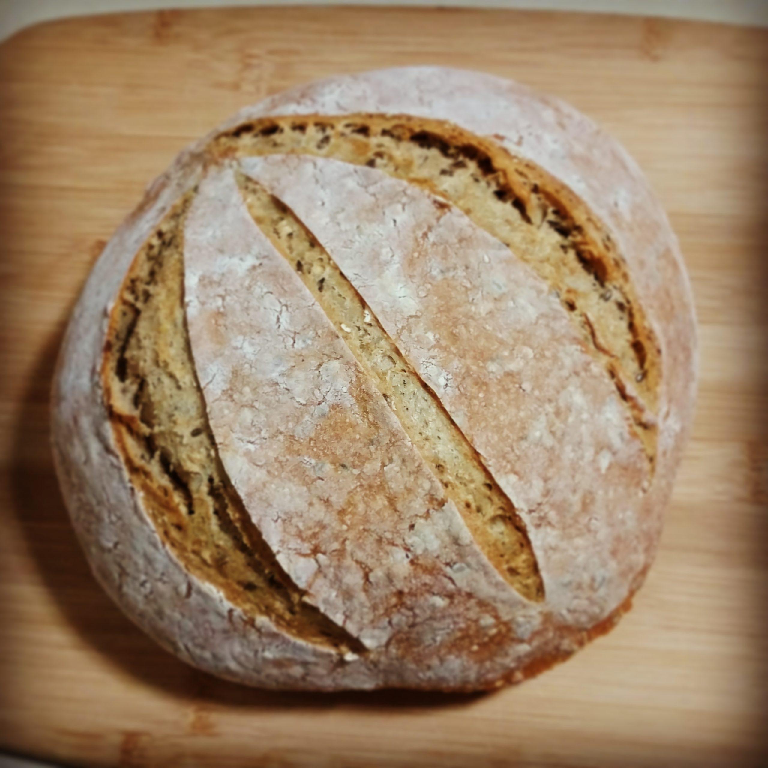 לחם כוסמין ודגנים